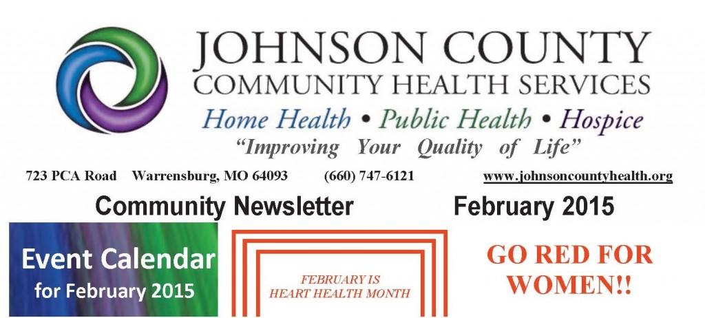 JCCHSCommunityNewsletterFebruary