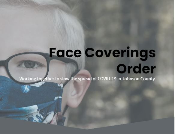 Face covering order